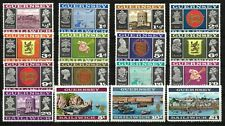 Guernsey 1969-70 Pictorial Set of 16 Stamps SG13/28 (Sc.8/23) MLH 12-12