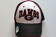 Georgia Bulldogs NCAA College Cap Kappe Klett Grössenverstellbar