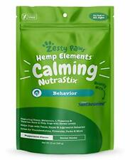 Calming Dental Sticks for Dogs - Stress & Anxiety Relief with Hemp, 12 Oz