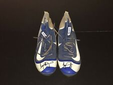 Jeimer Candelario Chicago Cubs Signed 2016 Game Used Cleats Spikes Tigers E