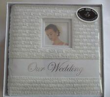 DISC. Wedding Photo Album Leatherette Rattan Design ( Engagement same Pattern)