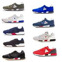 Le Coq Sportif Omega X Sport & Nylon Trainers in Blue & Grey 181F079 & 181F085