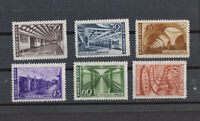 RUSSIA Sc# 1153-1158 MNH OG stamp set Moscow Subway 1947