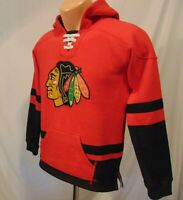 Chicago Blackhawks NHL Hooded Sweatshirt Youth Size M 10-12 CCM Pro Equipment