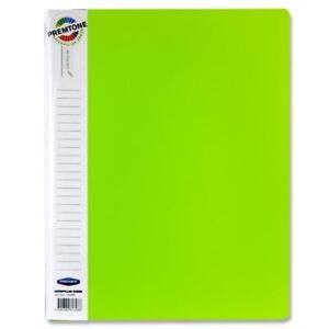 A4 Office 40 Pocket Display Book - Caterpillar Green