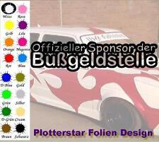 Offizieller Sponsor der Bußgeldstelle JDM Sticker Aufkleber oem Like Fun Hater