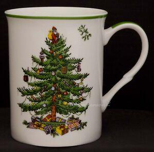 SPODE CHRISTMAS TREE MUG CUP BEAKER