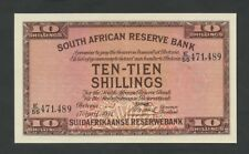 South Africa 10 sh 1941 P82d Ef World Paper Money
