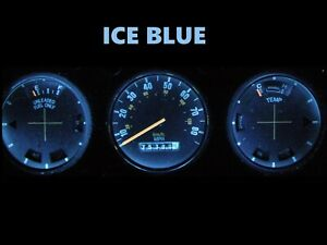 Gauge Cluster LED Dashboard Bulbs Ice Blue For Ford 77 79 Ranchero Tbird LTD II