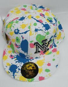 Time is Money Paint Pplash Snapback Baseball New York Hip Hop Vintage Flat Hat