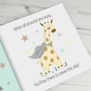 Personalised Big Sister Story Book New Baby Announcement