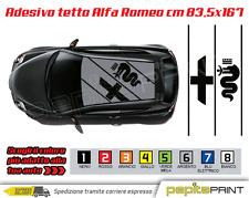 Adesivi tetto logo ALFA ROMEO stickers MITO 147 giulietta tuning car stickers