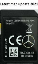 NEW V16 2021 SD for Mercedes Sat Nav SD Card MAP A B CLA E GLS GLA GLE C (A218)