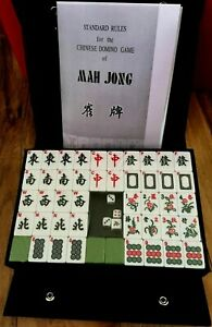 Large Mahjong Set - 146 tiles Best Quality for English player Free Instructions
