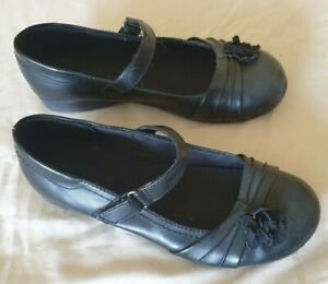 NEW Sonoma Youth Girls Black Dress Shoes F1A m