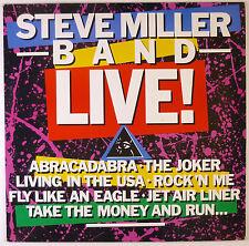 "12"" LP - Steve Miller Band - Live! - B3013 - washed & cleaned"