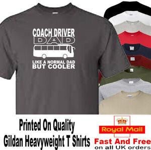 Coach Driver T Shirt Dad Novelty Gift