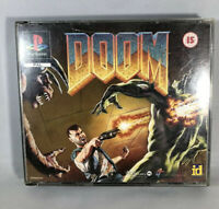 Playstation 1 - DOOM With Demo Disc PS1 No Manual - Tested & Working