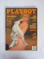November 1990 Playboy Magazine - Teri Copley CENTERFOLD INTACT