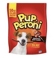 PupPeroni Original Beef Flavor Dog Snacks Treats 50 Oz Pup-Peroni