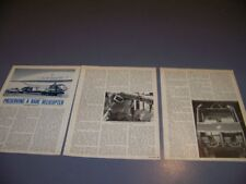 VINTAGE..SIKORSKY R-4B HELICOPTER HISTORY..HISTORY/PHOTOS/DETAILS..RARE! (708Q)
