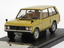 Range Rover1970 Bahama Gold 1:43 ALMOST REAL 410103