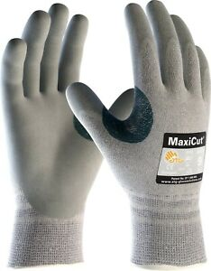 12 x MaxiCut 34-470 Palm Coated KW High Cut Protection Long Life Gloves