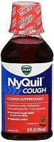 Vicks Nyquil Cough Relief, Cherry Liquid, 12 oz