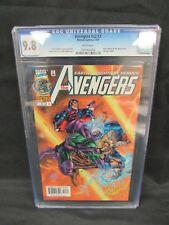 Avengers #v2 #3 (#405) (1997) Mantis Kang Loki Appears CGC 9.8 White Pages E470