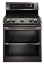 Lg Lde4413Bd 30 In Black Stainless Steel Dual Oven Electric Range
