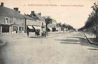 MONTCHANIN-les-MINES - Avenue de la république