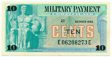 US  MPC Militray Payment Certificate 10 Cents ND.1970 M. 92 Series 692 UNC Note
