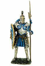 Ritter in Rüstung mit Löwenschild 23 cm Figur Deko Skulptur