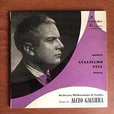 Vinile 45 giri Alceo Galliera copertina Luigi Veronesi - E22511