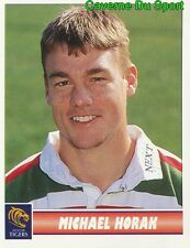 071 MICHAEL HORAK  LEICESTER TIGERS STICKER PREMIER DIVISION RUGBY 1998 PANINI