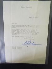 1964 Billy Graham Signed Letter on Personal Stationary