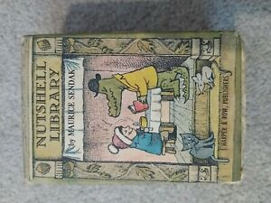 Maurice Sendak's Nutshell Library 4 Book Set HarperCollins