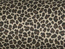 NW custom VALANCE OR table RUNNER WILD skin animal LEOPARD