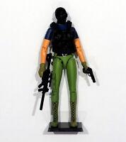 GI JOE Female Snake Eyes Commando Action Figure 3.75 Custom Force 1:18 Scale Lot