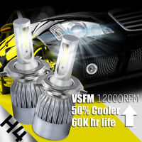 XENTEC LED HID Headlight Conversion kit H4 9003 6000K for 1993-1994 Lexus LS400