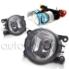 For 2013-2014 Ford Fusion Replacement Fog Lights w/HID Kit - Clear