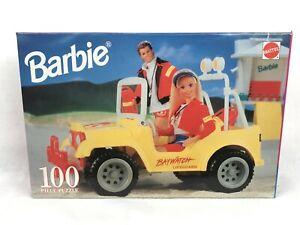 SEALED vintage 90s BARBIE BAYWATCH PUZZLE 100 piece Mattel jigsaw