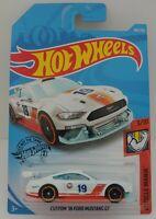 '18 Ford Mustang GT (Custom Gulf) - White | HW Muscle Mania 3/10 | HW 180/250