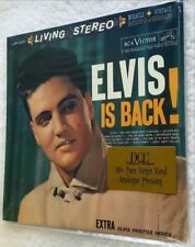 ♫ ELVIS PRESLEY ♫ ELVIS IS BACK! DCC Ltd. Ed. Low# Rare Sealed Audiophile LP OOP