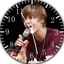 Justin Bieber Frameless Borderless Wall Clock Nice For Gifts or Decor W247