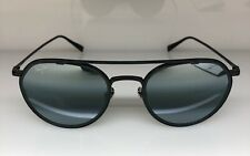 Maui Jim 557-02 BOWLINE Sunglasses Black Gloss w/ Matte Blk Rim / Neutral Grey