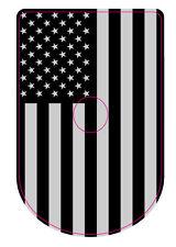 SPRINGFIELD XD / XDM  GREY LINE FLAG Magazine Base Plate STICKERS, Set of 6