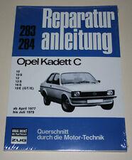 Reparaturanleitung Opel Kadett C, Baujahre 1977 - 1979