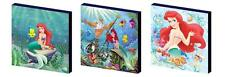 DISNEY PRINCESS ARIEL LITTLE MERMAID CANVAS ART BLOCKS/ WALL ART PLAQUES/PICTURE