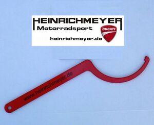 DUCATI Kettenspanner Hakenschlüssel 1098 848 Excenter NEU mit längerem Griff!!